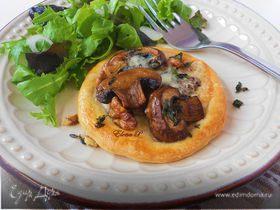 "Тарты с грибами и грецкими орехами (готовим с ""HomeQueen"")"