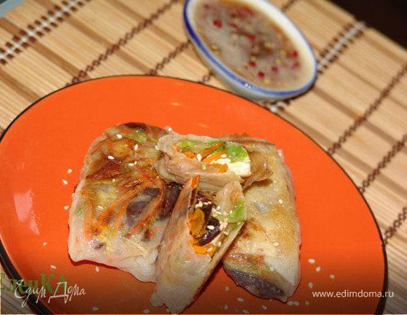 Спринг-роллы с тофу