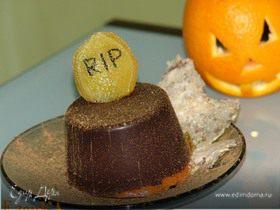ТЫКВЕННЫЙ КРЕМ ЧИЗ С МАРШМЕЛЛОУ В ШОКОЛАДЕ для Halloween