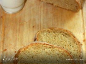 Заварной яблочный хлеб