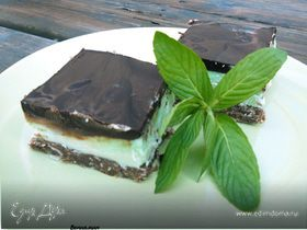 канадский десерт (Mint Nanaimo Bars)