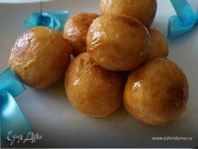 Лукумадес, греческие пончики (λουκουμάδες)