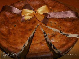 Бельгийский творожный пирог