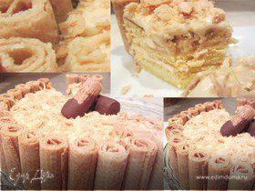 """Домашний тортик """"Моя фантазия"""". Тает на глазах"""
