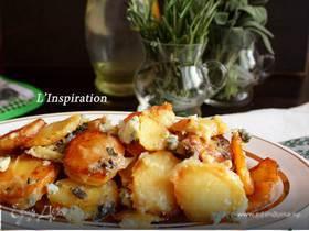 Картофель с горгонзолой