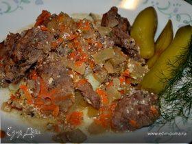 Назад в СССР: Мясо, тушенное по-суздальски