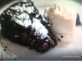 Торт «Шоколадный» (без муки)