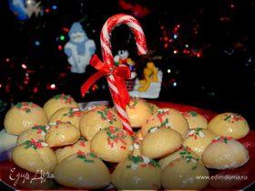Итальянское печенье с цветной крошкой