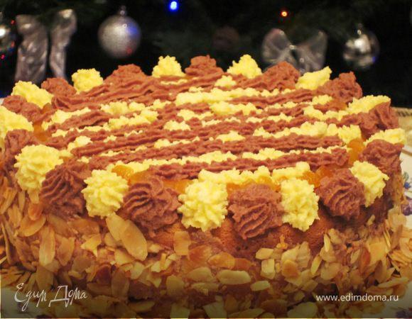 """Торт """"Апельсиновый восторг"""""""
