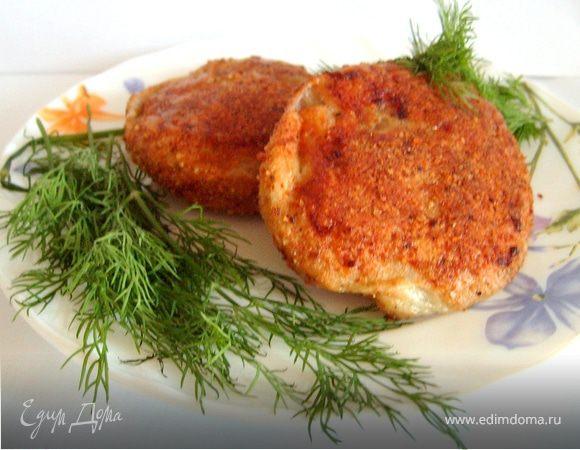 Рыбные зразы с креветками