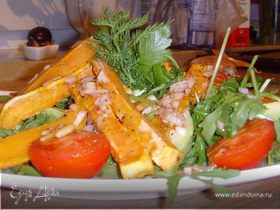 Салат с бататом