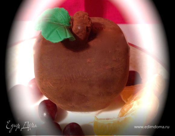 Шоколадное яблоко с сюрпризом