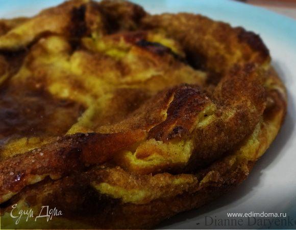 Испанский заварной пирог с корицей