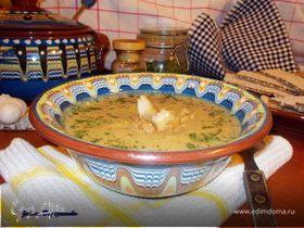 Суп-пюре из кабачков с карри