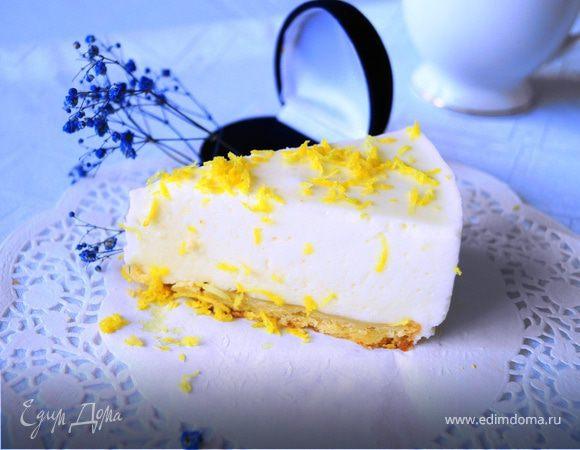 """Лимонный торт-суфле """"Полночь в Париже"""""""