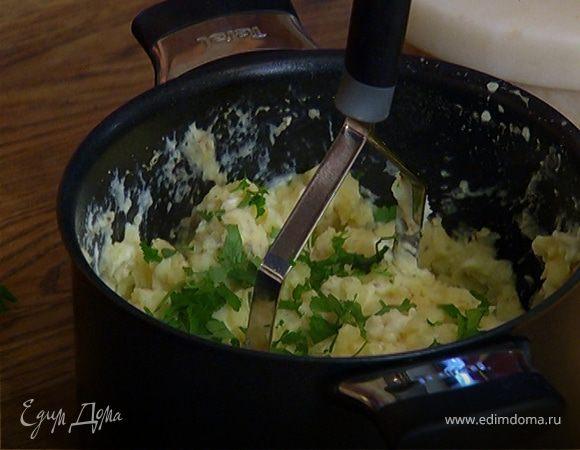 Картофельное пюре с йогуртом и специями