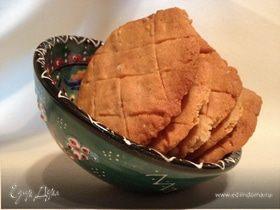 Быстрое печенье с арахисом