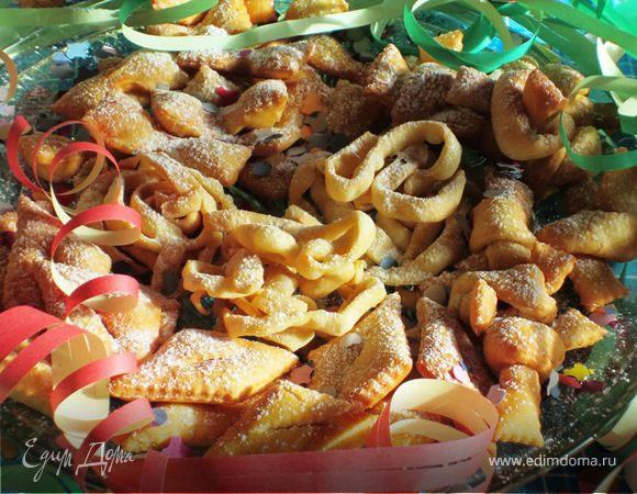 Кьяккери (один рецепт-четыре варианта сладостей)