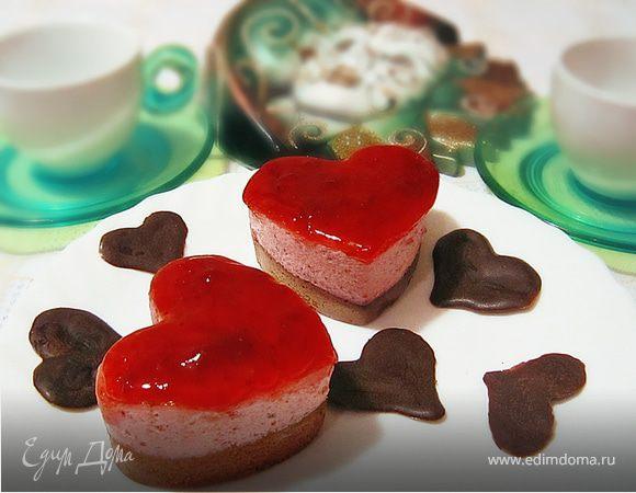 """Пирожное """"С любовью"""""""