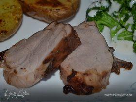 Пикантное свиное филе