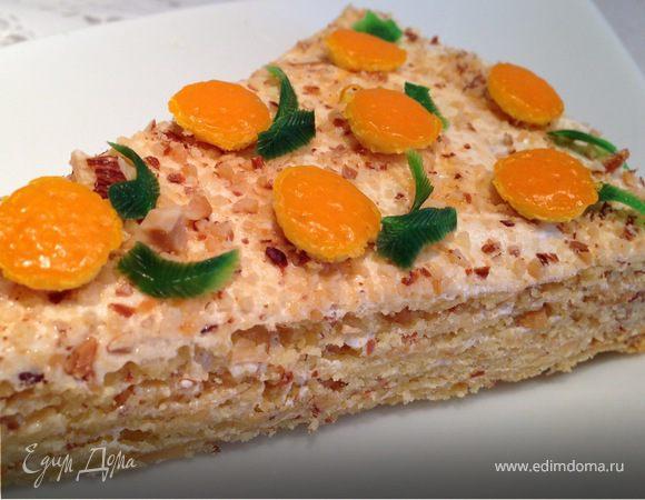 Краковский песочный торт