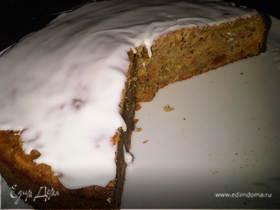Морковно-яблочный кекс на оливковом масле