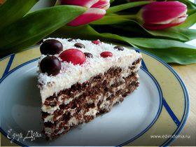 Очень простой торт для любимых