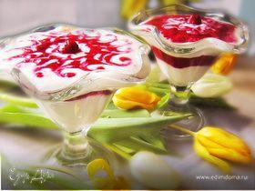 """Творожный десерт """"Для любимой"""""""