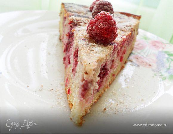 Малиново-творожный пирог для Татьяны S и для любителей творога