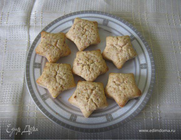 Постные кексы с миндалем