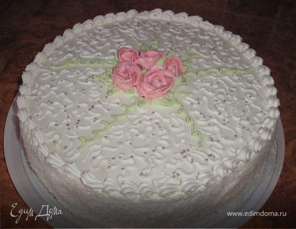 """Торт """"Белый ангел"""""""
