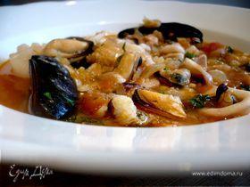 Суп из морепродуктов «Фигаро, или оперетта для взрослых»