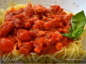"""Спагетти """"4 помидора"""""""