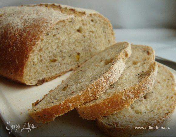 Зерновой хлеб на зрелом тесте из 4 видов муки