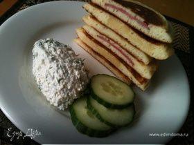 Панкейки-бутерброды