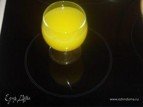 Апельсиновый сок по-домашнему