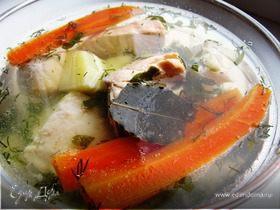 Рыбный суп из двух видов рыб