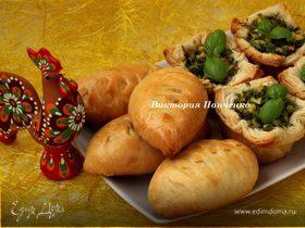 Пирожки с яйцом и пряной зеленью для Ани (Strelec)