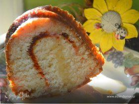 Кекс с медово-апельсиновой глазурью