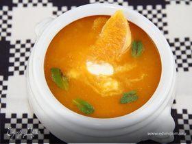 Морковно-апельсиновый суп-пюре