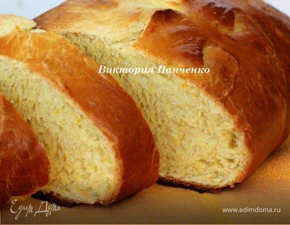 Мятно-апельсиновый хлеб от Ришара Бертине