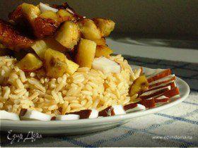 Рисово-банановое утро с карамельной ноткой