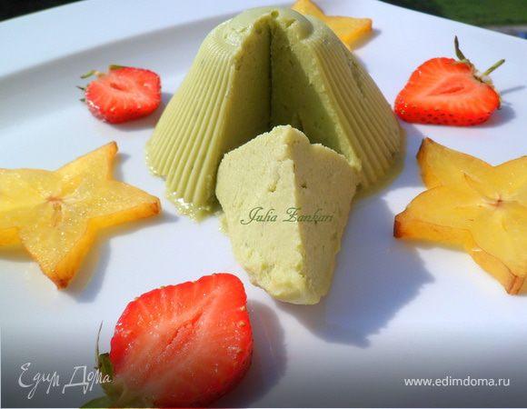 Мороженое из авокадо