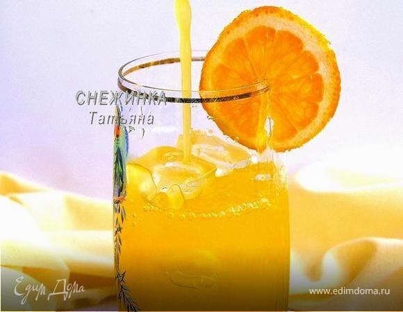 Освежающий апельсиново-лимонный напиток с морковью («Прохладительные напитки»)