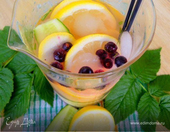 """Лимонад """"Огурец & Лимон"""""""