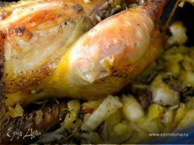 Цыпленок с фенхелем