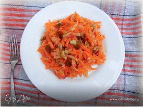 Очень вкусный салат из моркови и яблока