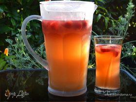 Персиковый холодный чай