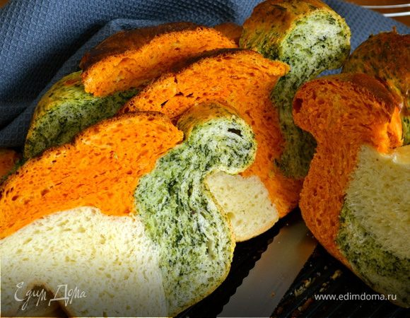 Трехцветный хлебушек (для MERI) (pane tricolore)