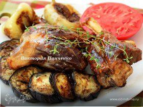 Бараньи рульки с розовым перцем и овощами для VITOCHKA